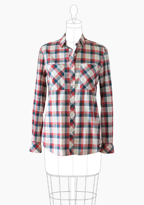 Archer Button Up Shirt Pattern - Grainline Studio