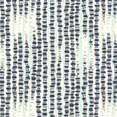 Birds Eye View Tapestried Navy - Cloud 9 Quilters Weight Fabric 44in/45in Per Metre