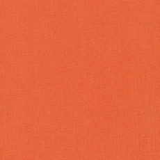 Cirrus Solids Clementine - Cloud 9 Yarn Dyed Cross Weave Fabric 44in/45in Per Metre