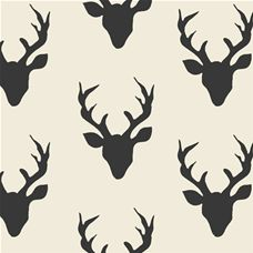 Hello Bear Buck Forest Canvas - Art Gallery Fabric 58in/59in Per Metre