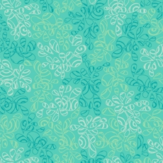 Caribbean Blue Nature Elements - Art Gallery Fabric 44in/45in Per Metre