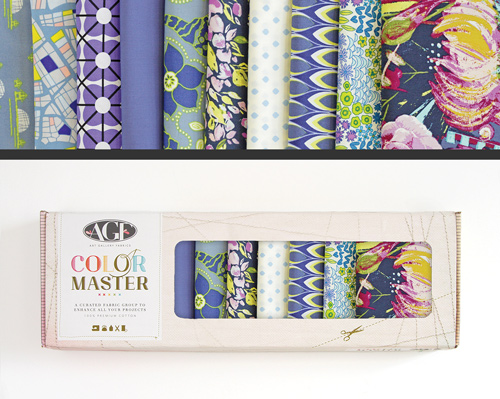AGF Colormaster Fat Quarter Collectors Set - Sapphire Shine Edition