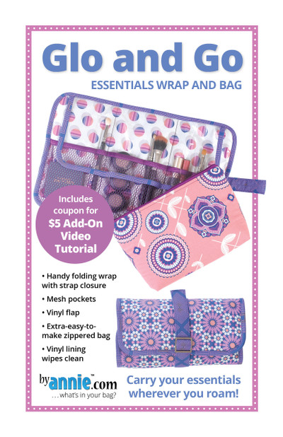 Glo and Go Bag Pattern By Annies