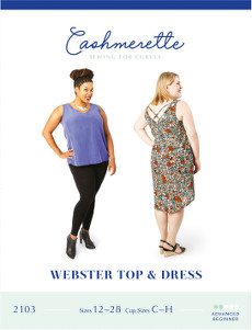 Webster Top & Dress Pattern - Cashmerette Patterns