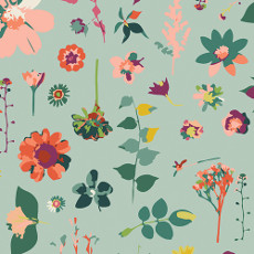 Garden Dreamer Moment In Time Light - Art Gallery Fabric 44in/45in Per Metre
