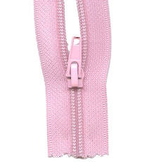 Make A Zipper Heavy Duty - 108in Long With 12 Zipper Pulls - Pink