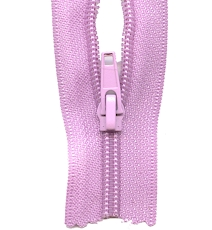 Make A Zipper Heavy Duty - 108in Long With 12 Zipper Pulls - Purple