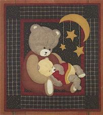 Miniature Quilt Kit - Spotty Cat 13in X 15in