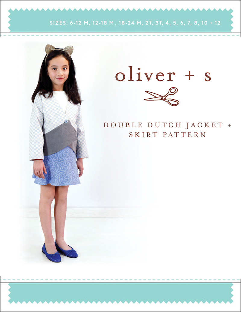 Double Dutch Jacket + Skirt - Liesl + Co Pattern