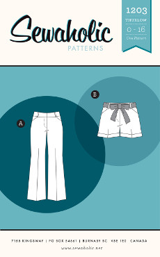 Thurlow Trousers Pattern - Sewaholic Patterns