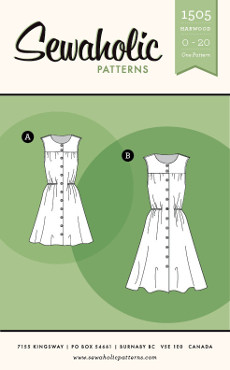 Harwood Dress Pattern - Sewaholic Patterns