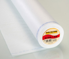 Vlieseline Easy Fuse Heavy Iron-On Interfacing 90cm X 25 Metre - White