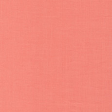 Cirrus Solids Coral - Cloud 9 Yarn Dyed Cross Weave Fabric 44in/45in Per Metre