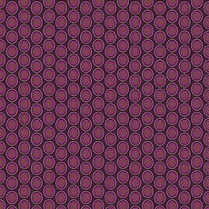 Oval Elements Egg Plant - Art Gallery Fabric 44in/45in Per Metre