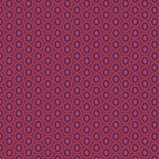 Oval Elements Beaujolais Wine - Art Gallery Fabric 44in/45in Per Metre