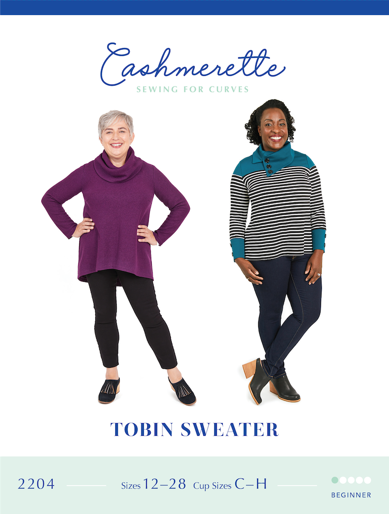 Tobin Sweater Pattern By Cashmerette