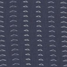 Distressed Triangles Denim Print - Art Gallery Fabric 58in/59in Per Metre, 100% Cotton, 4.5 Oz/sqm