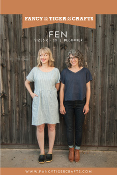 Fen Top & Dress Pattern - Fancy Tiger Crafts Patterns