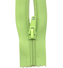 Make A Zipper Heavy Duty - 108in Long With 12 Zipper Pulls - Green