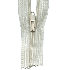 Make A Zipper Standard - 197in Long With 12 Zipper Pulls - Cream