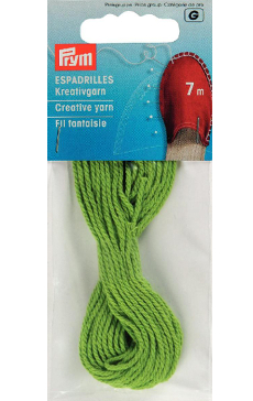 Espadrille Green Creative Yarn, 7m, 100% Cotton