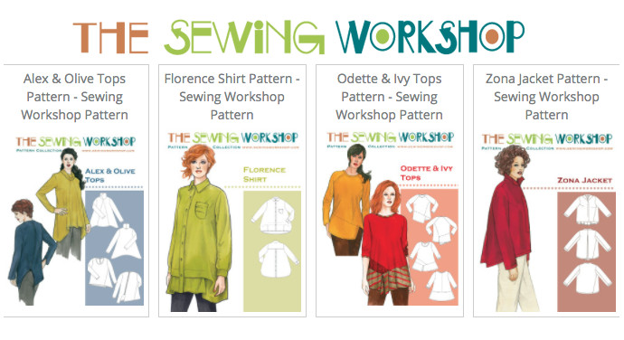 The Sewing Workshop Patterns - Wholesale Distributed By Hantex Ltd