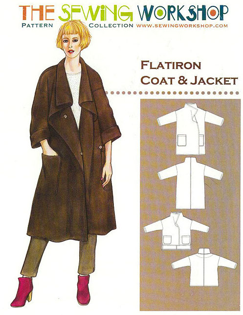 Flatiron Coat Pattern By The Sewing Workshop
