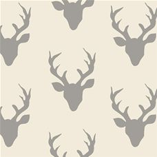 Hello Bear Buck Forest Silver - Art Gallery Fabric 44in/45in Per Metre