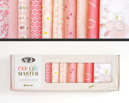 AGF Colormaster Half Yard Collectors Set - Rose Parfait Edition