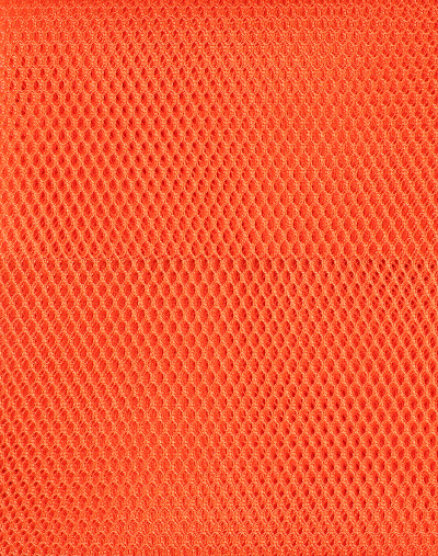 Mesh Fabric Pumpkin 18in x 54in (45cm x 137cm) Pack