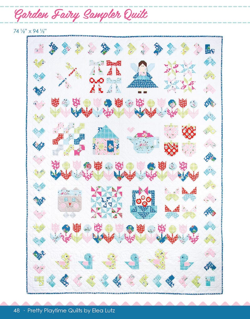 Pretty Playtime Quilts by Elea Lutz