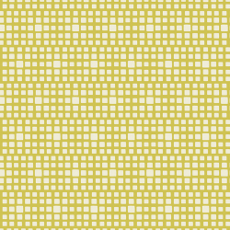 Squared Elements Kings Road Yellow - Art Gallery Fabric 44in/45in Per Metre