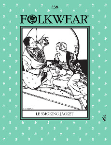 Le Smoking Jacket by Folkwear Patterns