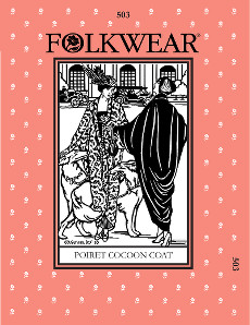 Poiret Cocoon Coat by Folkwear Patterns