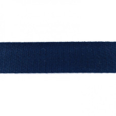 Dark Blue Cotton Webbing - 40mm X 50m