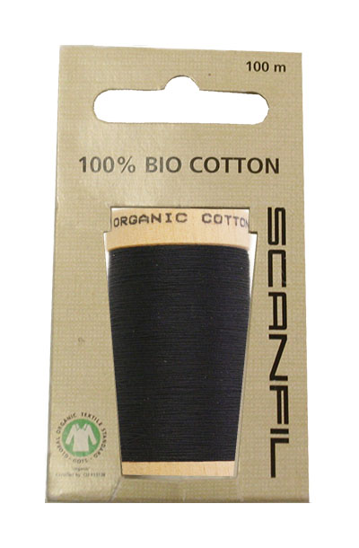 Scanfil Organic Thread 100 Metre Hang-sell - Navy