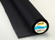 Vlieseline Woven Interlining Light Weight - Fusible 90cm X 25m - Black