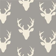 Hello Bear Buck Forest Mist - Art Gallery Fabric 44in/45in Per Metre