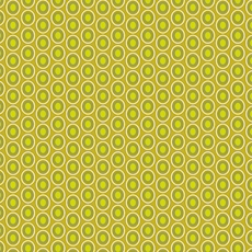 Oval Elements Chartreuse - Art Gallery Fabric 44in/45in Per Metre