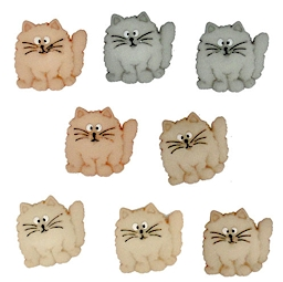 Fat Cats - Button Fun Pack