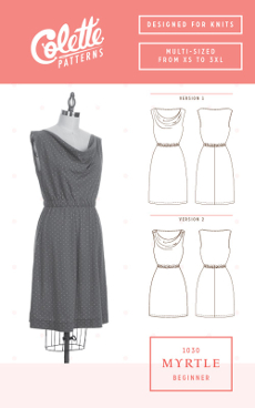 Myrtle Dress Pattern - Colette Patterns