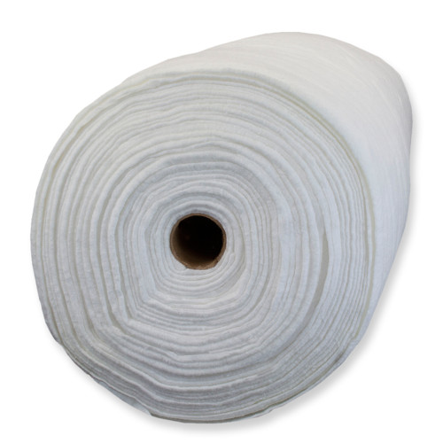 Legacy 80% Cotton/ 20% Polyester Bleached Wadding - Needle Punched - 243cm (96in) X 27.4m (30yds)