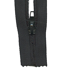 Make A Zipper Heavy Duty - 108in Long With 12 Zipper Pulls - Black