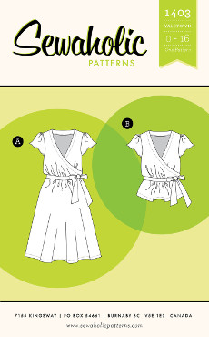 Yaletown Dress & Blouse Pattern - Sewaholic Patterns