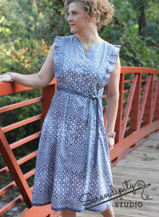 The Erin Shirtdress Pattern - Serendipity Studio