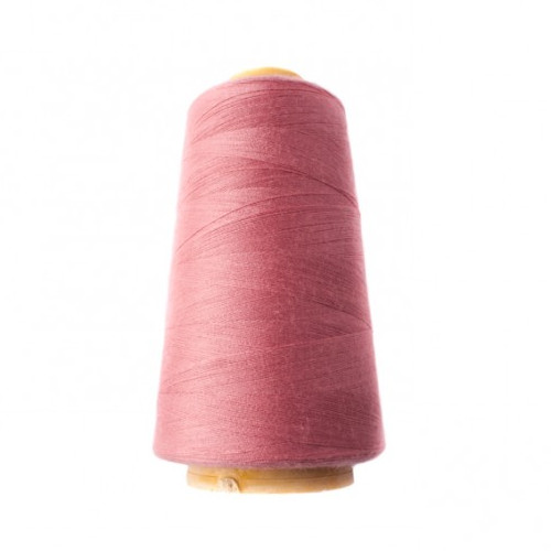 Hantex Overlocker Thread - Old Rose - 100% Polyester 3000 Yrds (2700+m)