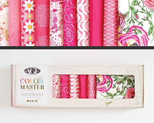 AGF Colormaster Fat Quarter Collectors Set - Life Is Pink Edition