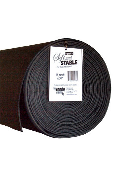 Soft And Stable 58in X 15yd Roll Black