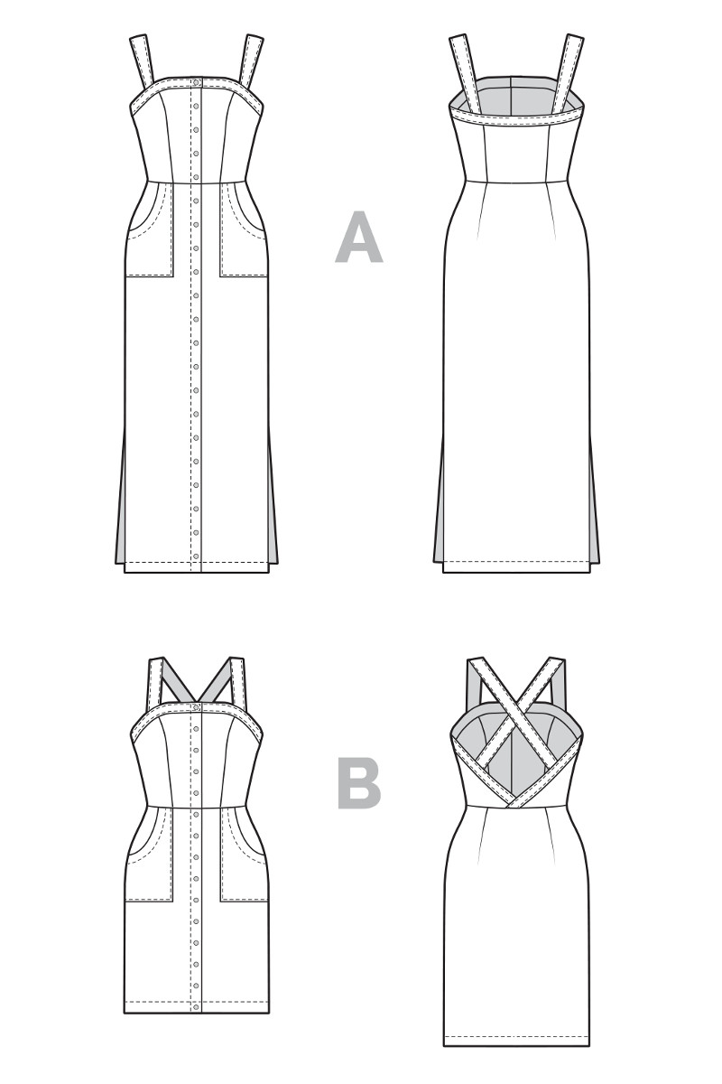 Fiona Sundress Pattern - Closet Case Files Pattern