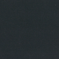 Black 2 x 2 Tubular Ribbing